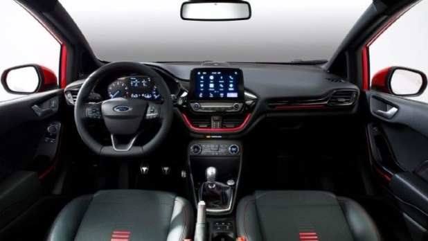 2021 Ford Fiesta RS interior