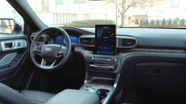 2021 Ford Ranchero interior