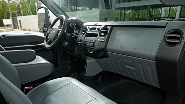 2022 Ford F-650 interior