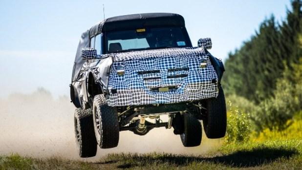 2022 Ford Bronco Warthog
