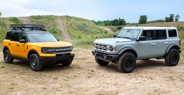 2022 Ford Bronco price