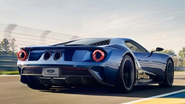 2022 Ford GT top speed