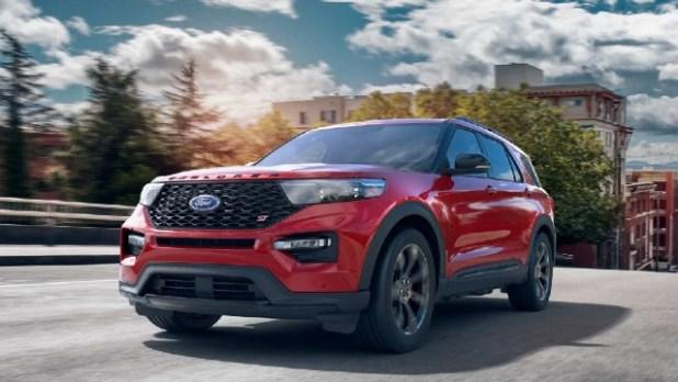 2022 Ford Explorer ST price