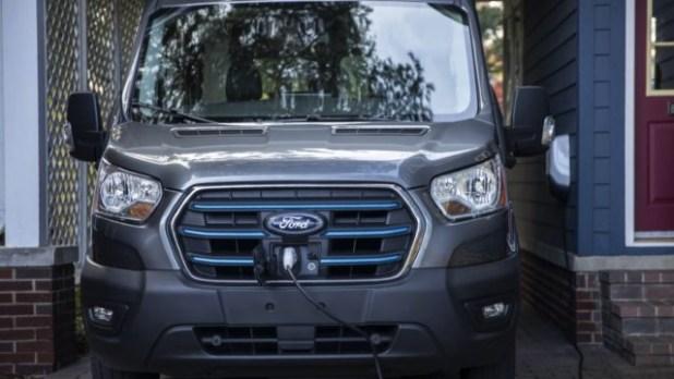 2022 Ford E-Transit Electric