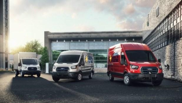 2022 Ford E-Transit price