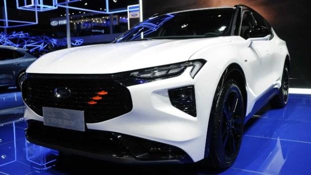 2022 Ford Evos concept