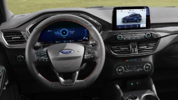 2022 Ford Kuga interior
