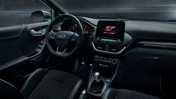 2022 Ford Puma ST interior