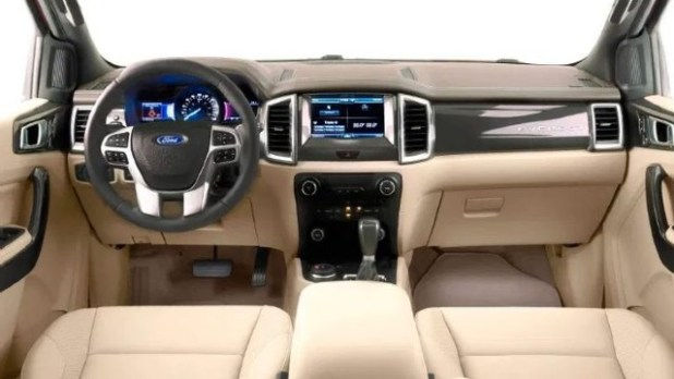 2022 Ford Ranger Wildtrak interior
