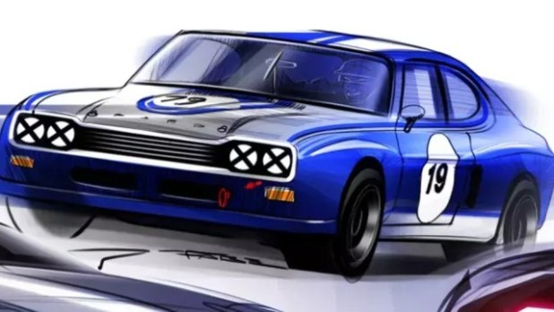 2022 Ford Capri render