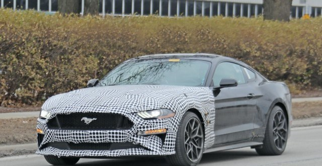2023 Ford Mustang spy shots