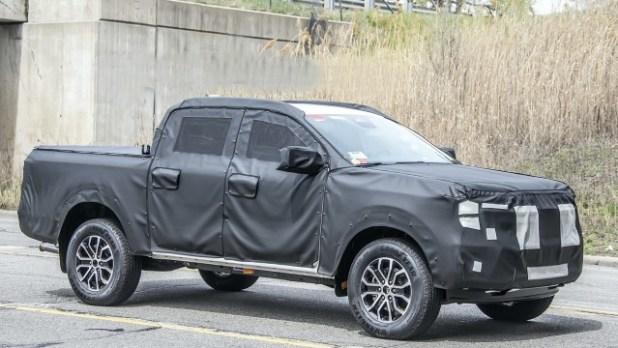 2023 Ford Ranger spy shots