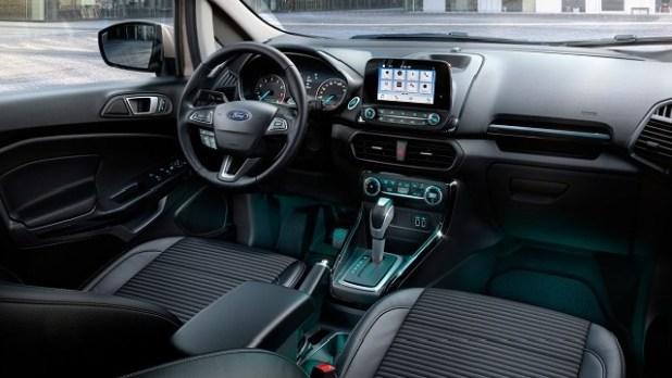 2023 Ford EcoSport interior