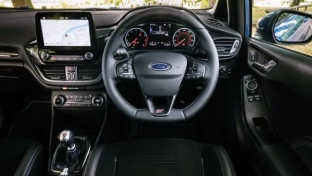 2023 Ford Fiesta interior