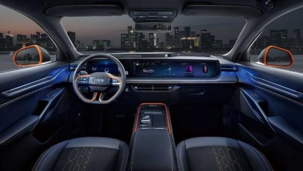 2023 Ford Mondeo Evos interior