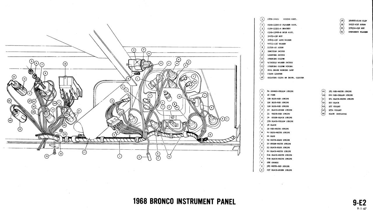 1968 Bronco Wiring Diagram Auto Electrical 1997 Jeep Grand Cherokee Infinity Amp Related With