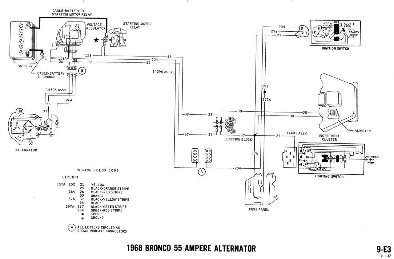 Related with 1968 bronco wiring diagram