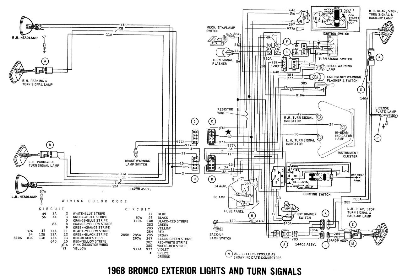 1968 BRONCO WIRING DIAGRAM