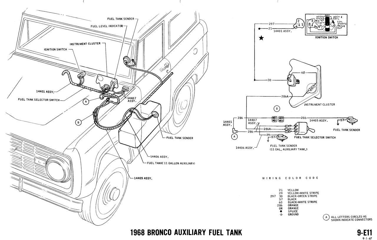 early bronco wiring diagram 2000 saab 9 3 stereo 1968 diagrams ford truck fanatics
