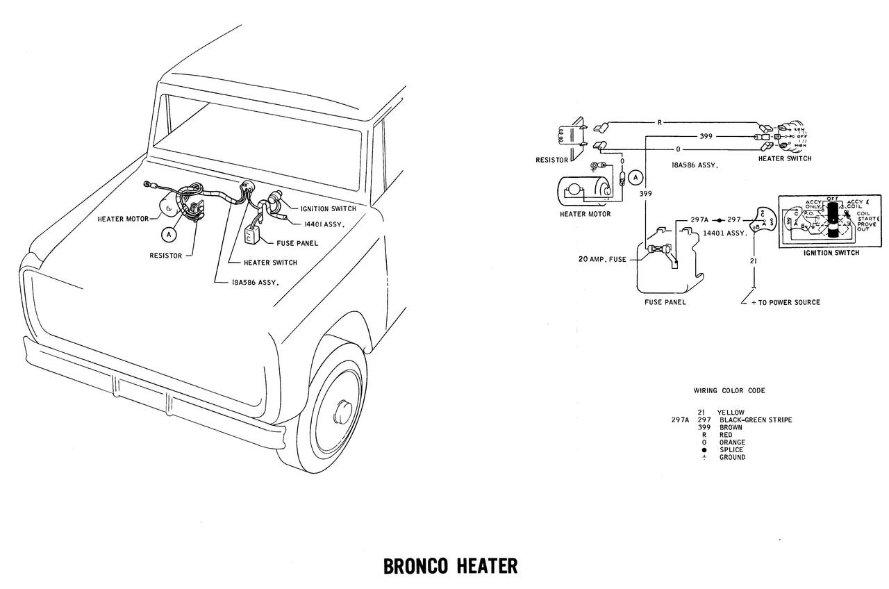 Bronco Wiring Diagrams