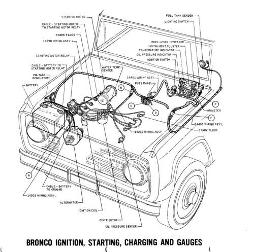 small resolution of  wrg 4272 1971 ford bronco wiring diagram