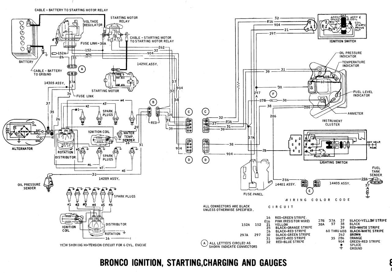 1971 wiring diagrams ford truck fanatics