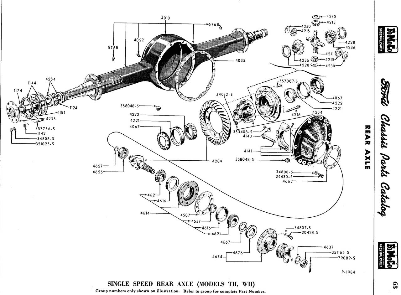 Chassis Parts And Accessories Rear Axle