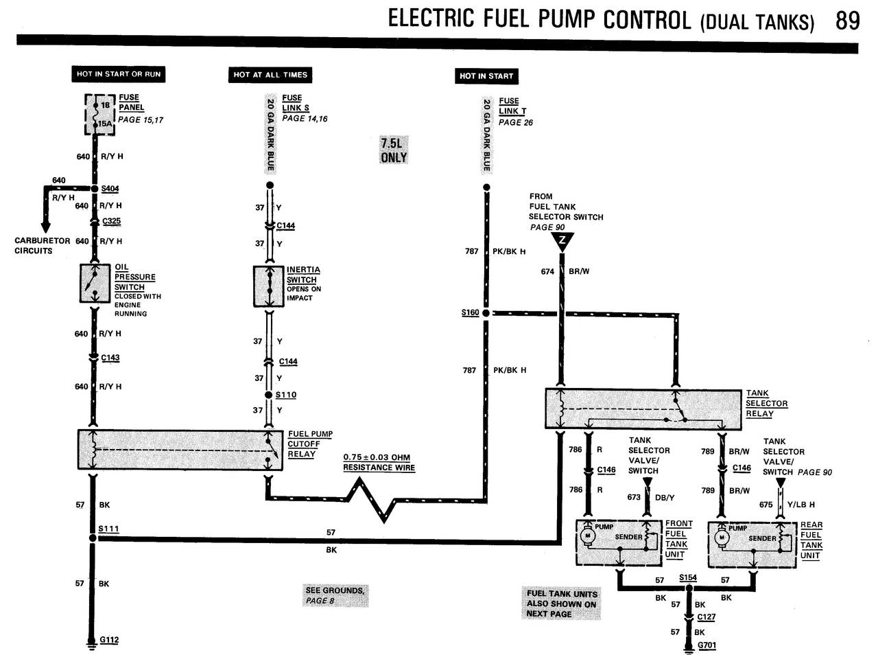 1984 Bronco/F150-350 Electrical and Vacuum Trouble