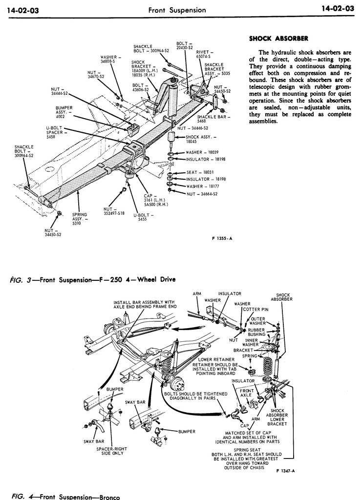 1970 Shop Manual-Chassis, Volume 1, Group 14, Suspension