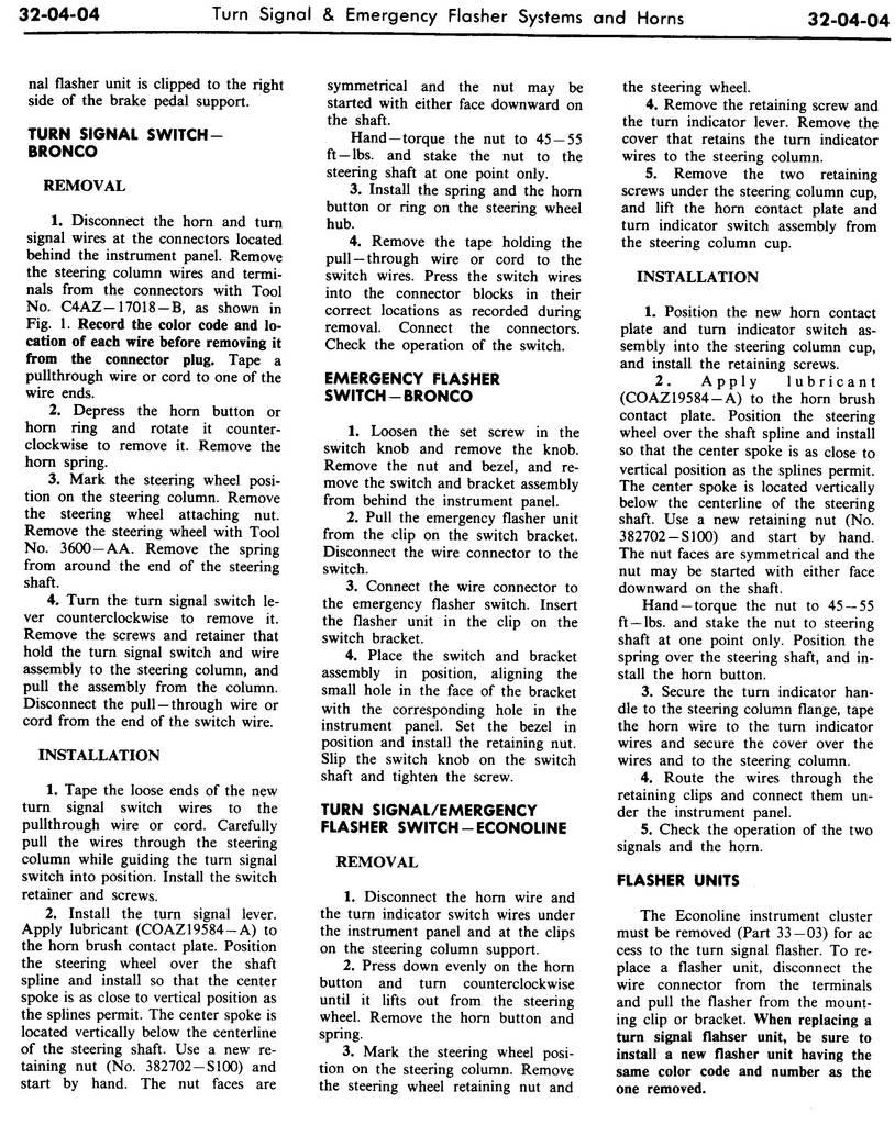 1970 Shop Manual-Vol 3 & 4,Body & Electrical,Group 32