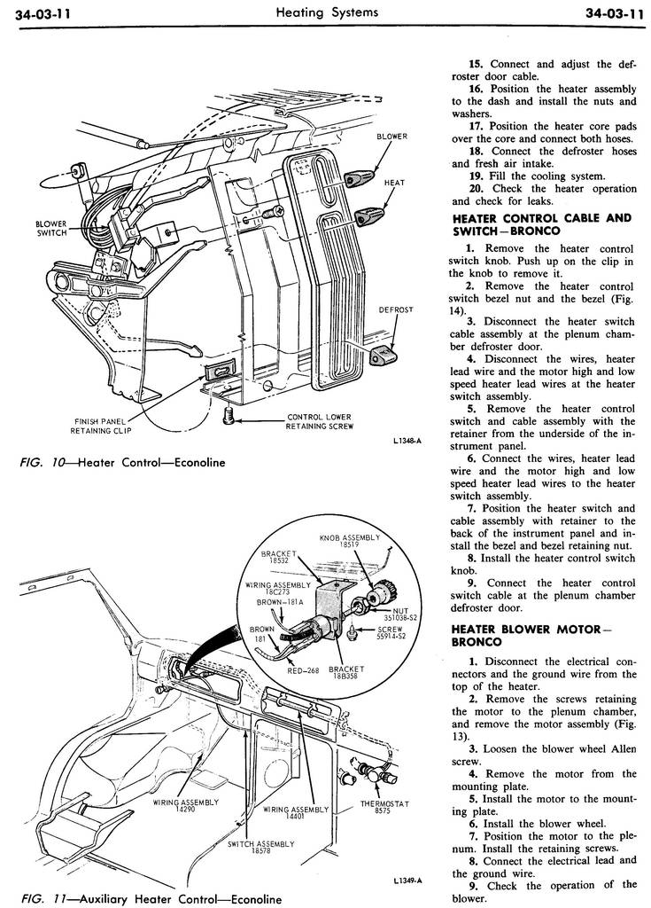 1970 Shop Manual-Vol 3 & 4,Body & Electrical,Group 34