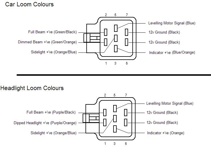Wiring Diagram For Headlights Halogen : 37 Wiring Diagram