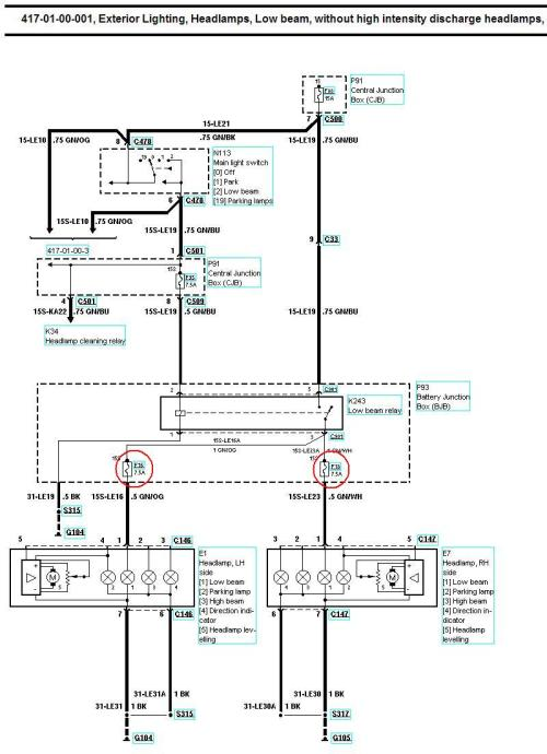 small resolution of xenon oem headlight retro fit guide www fordwiki co uk wiring diagram for headlights halogen