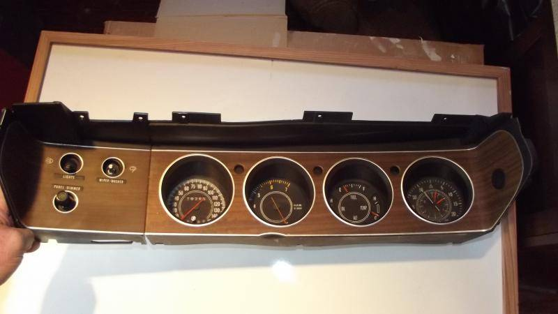 Cuda Challenger Rallye Gauge Cluster For E Bodies Only