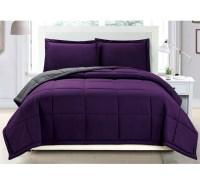 dark purple bedding sets