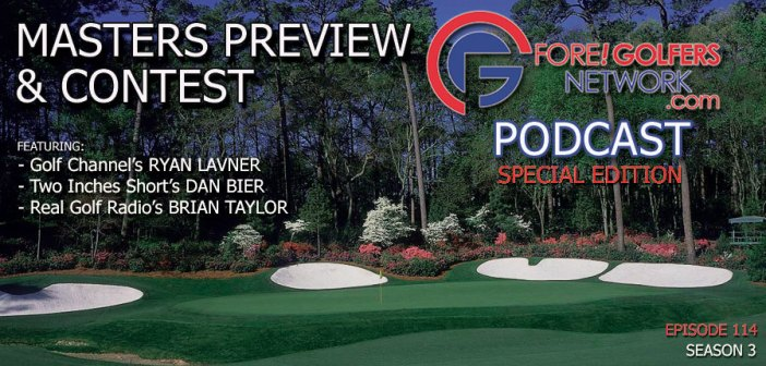Masters Preview & Prediction Contest