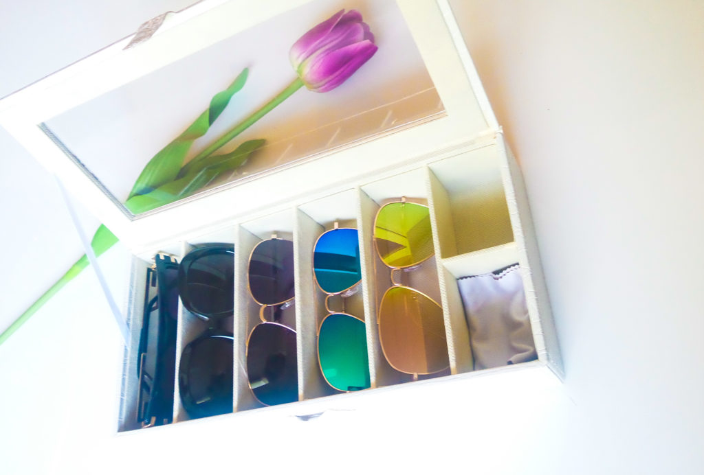 Portable Sunglasses travel box