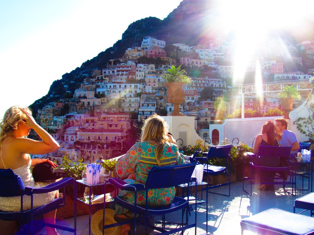 Le Sirenuse Franco's Bar by popular Dallas travel blogger Foreign Fresh & Fierce