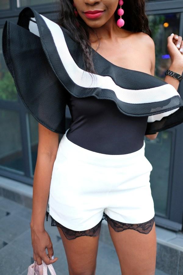 ruffle bodysuit