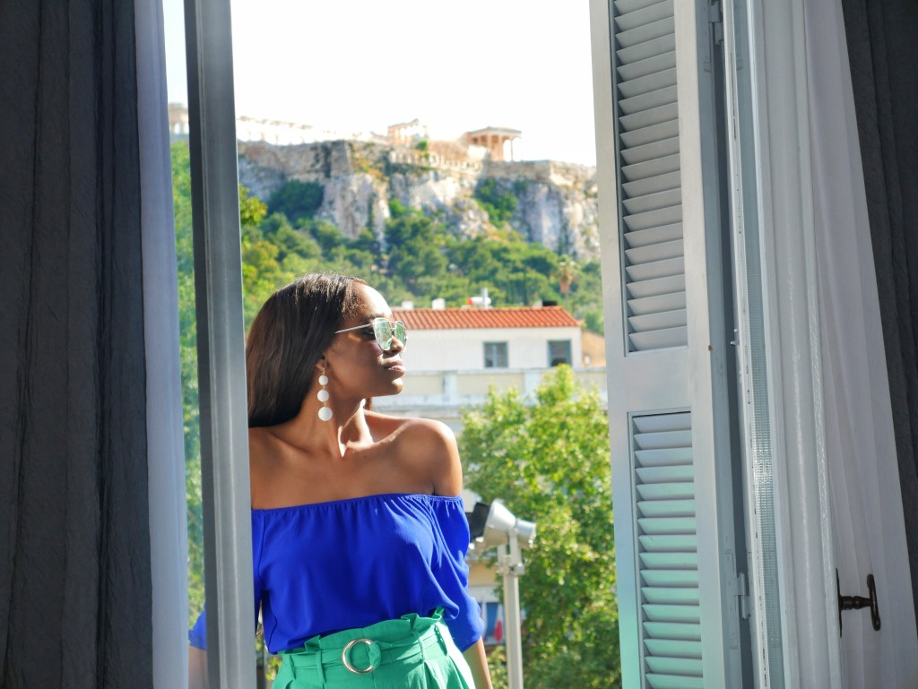 The Zillers Athens Boutique Hotel - Tips for Your Greek Islands Travel by popular Dallas travel blogger Foreign Fresh & Fierce