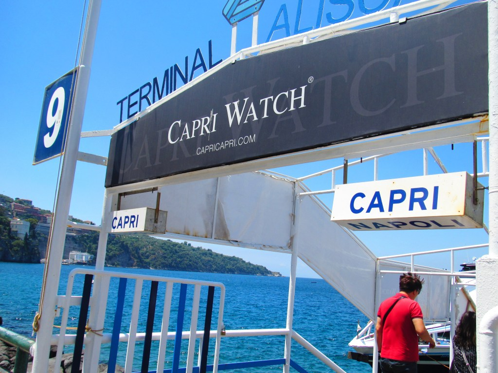 Amalfi coast ferry