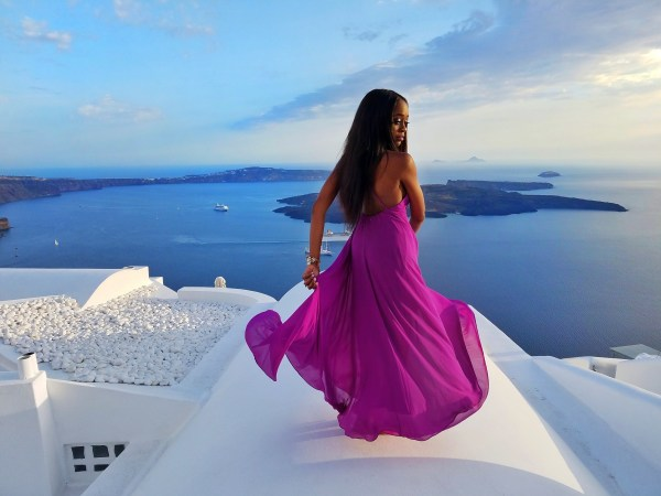 best photo locations in Santorini Greece
