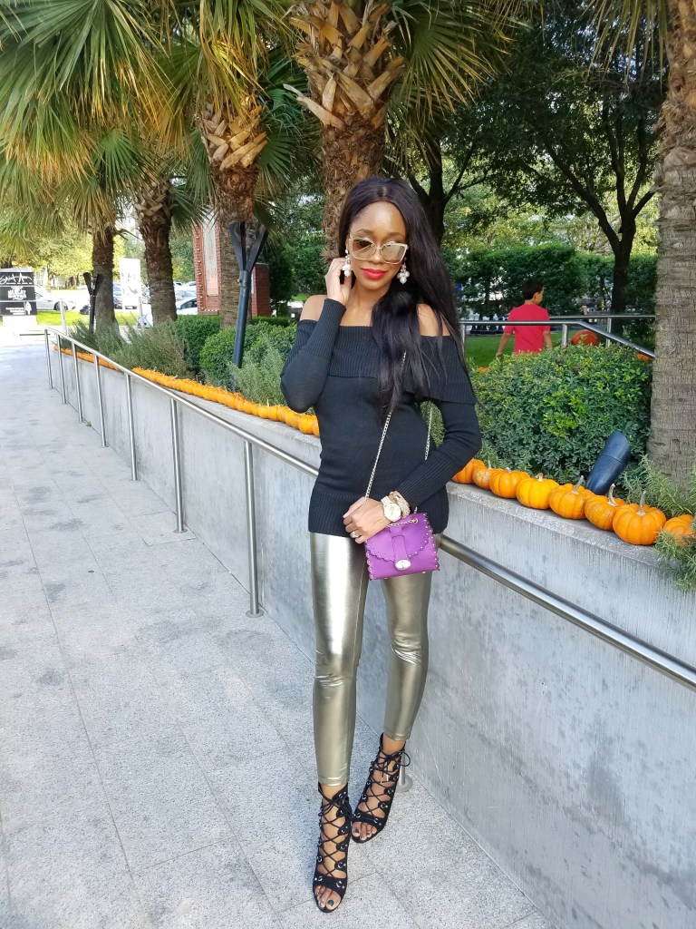 Metallic Trend Inspiration by Dallas style blogger Foreign Fresh & Fierce