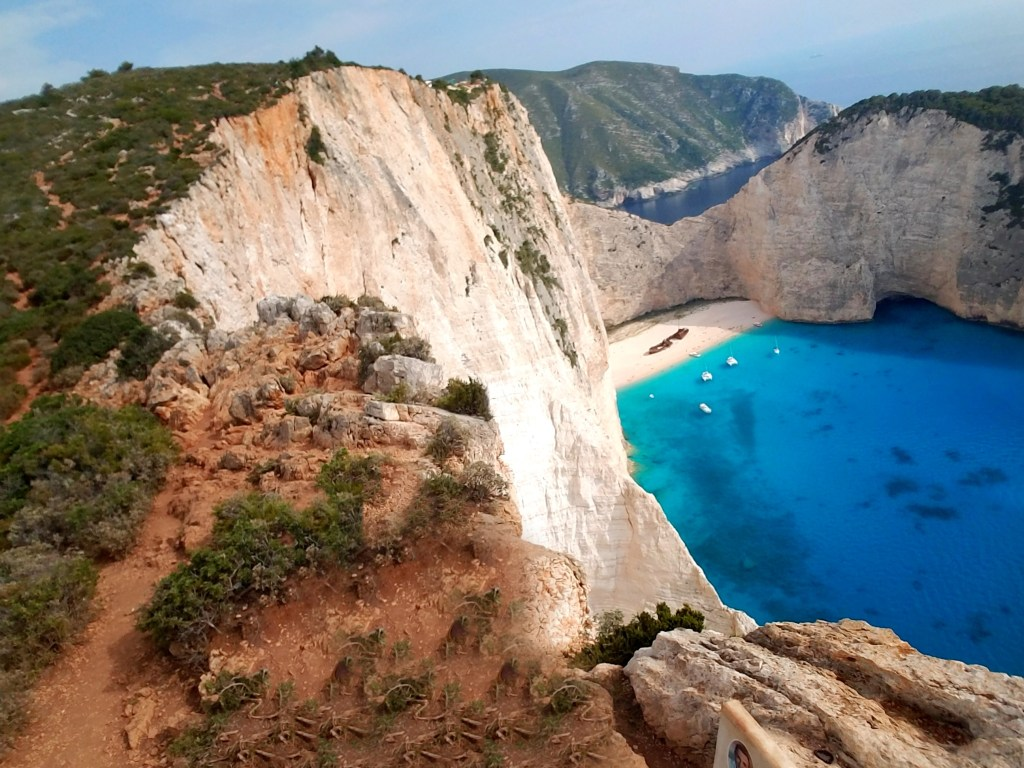 Travel Guide: Exploring Zakynthos Greece by popular Dallas travel blogger Fresh Foreign & Fierce