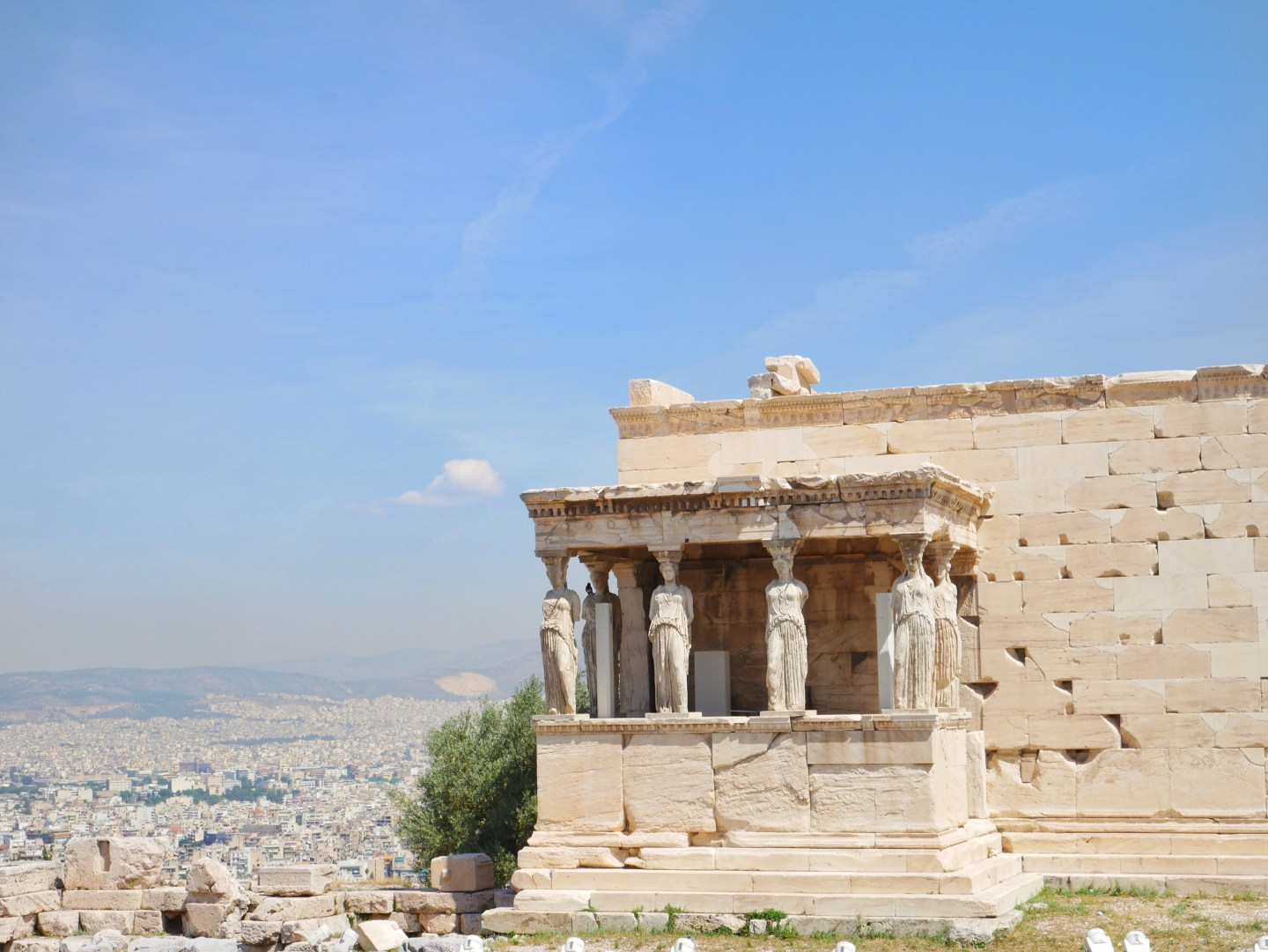 athens Greece acropolis Erecthion Temple