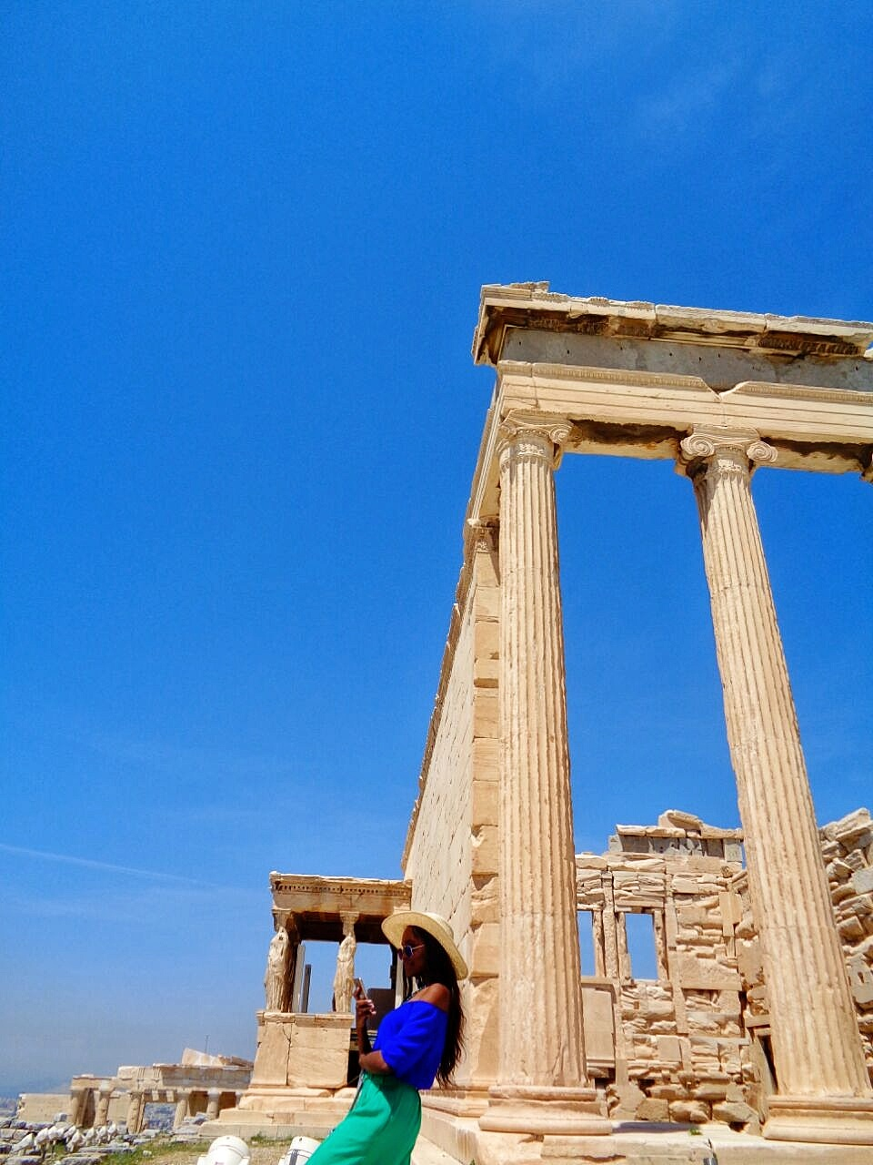 athens Greece acropolis Erecthion Temple
