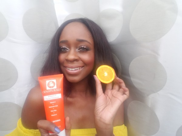 OZ Naturals Skin care rountine and review featured by popular Dallas beauty blogger, Foreign Fresh & Fierce