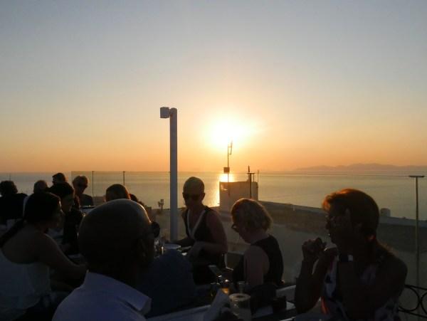 strogili restaurant oia santorini greece