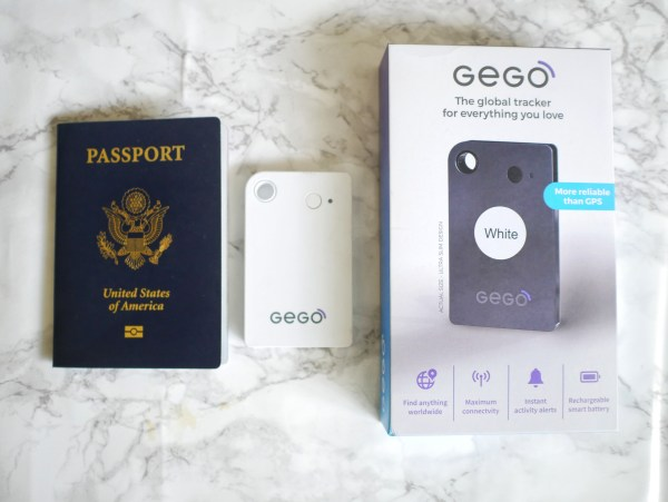 GEGO Tracker travel essential luggage tracker