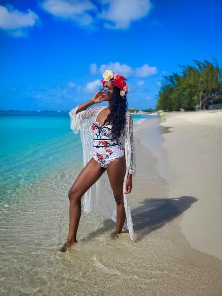 Seven Mile Beach Grand Cayman Islands Carnival Sunrise Western Caribbean